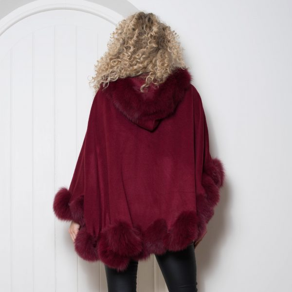 'MARILYN MONROE' CASHMERE CAPE